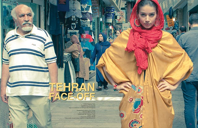 Iran Hosts Its First Fashion Shoot In Decades, & It Looks Fantastic