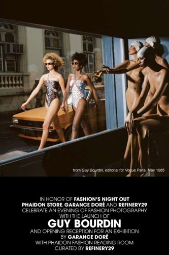 Guy Bourdin- Phaidon- invite