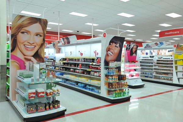 Target Beauty Aisle Aisle at Our Local Target