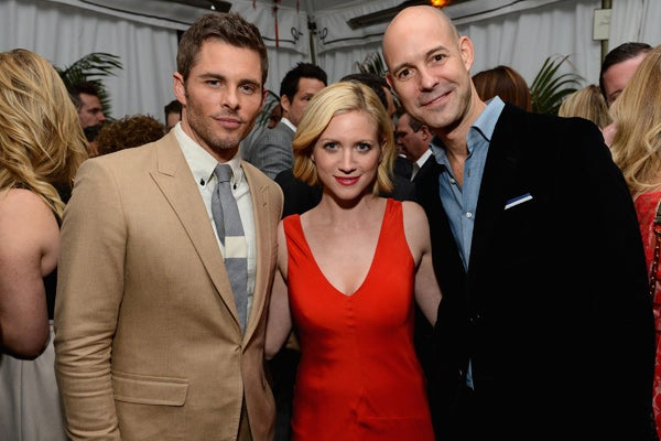 Actors-James-Marsden,-Brittany-Snow-and-publisher-of-GQ-Chris-Mitchell-attend-the-GQ-Men-of-the-Year-Party,-courtesy-of-Grey-Goose