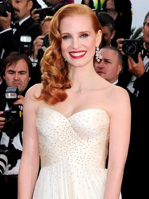 curly-hairstyles-jessica-chastain