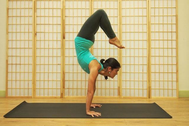 Scorpion: How To Finally Nail The Hardest Yoga Pose