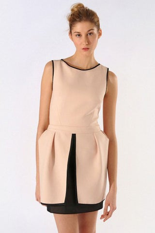 maje-nude-sheer-back-dress-$515