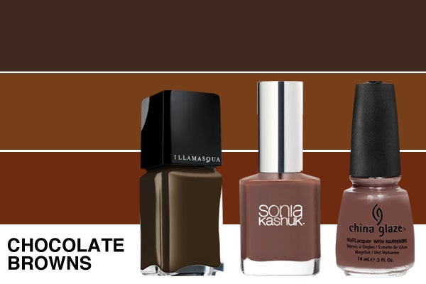 Winter-nail-polish-ChocolateBrowns