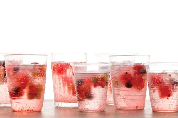 Our New Favorite Party Trick: Fresh Fruit Ice Cubes