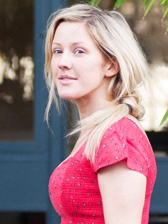 Celebrities Without Makeup Ellie Goulding
