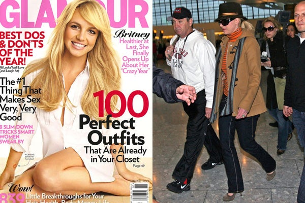 Glamour Magazine- Britney Spears Cover shoot
