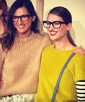 Michele Ouellet and Jenna Lyons