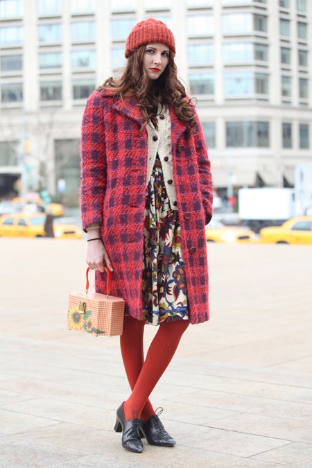 New York Street Style Vintage Clothing Street Style