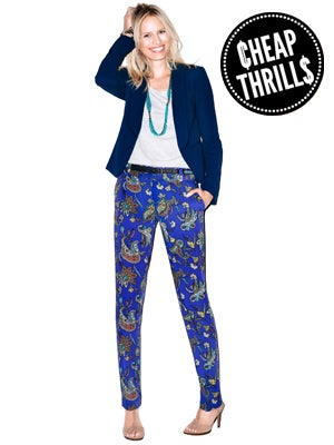 Cheap Thrill: Silky Printed Pants We'll Wear Until September