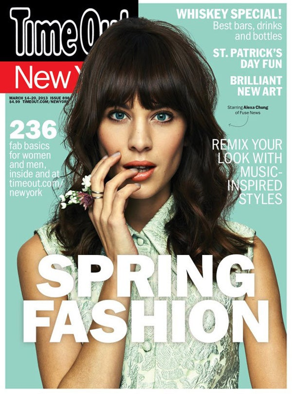 Alexa Chung Covers Time Out New York 2013