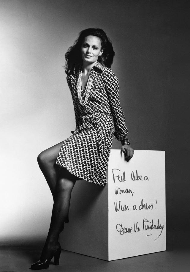 diane von furstenberg dvf wrap dress anniversary. Black Bedroom Furniture Sets. Home Design Ideas