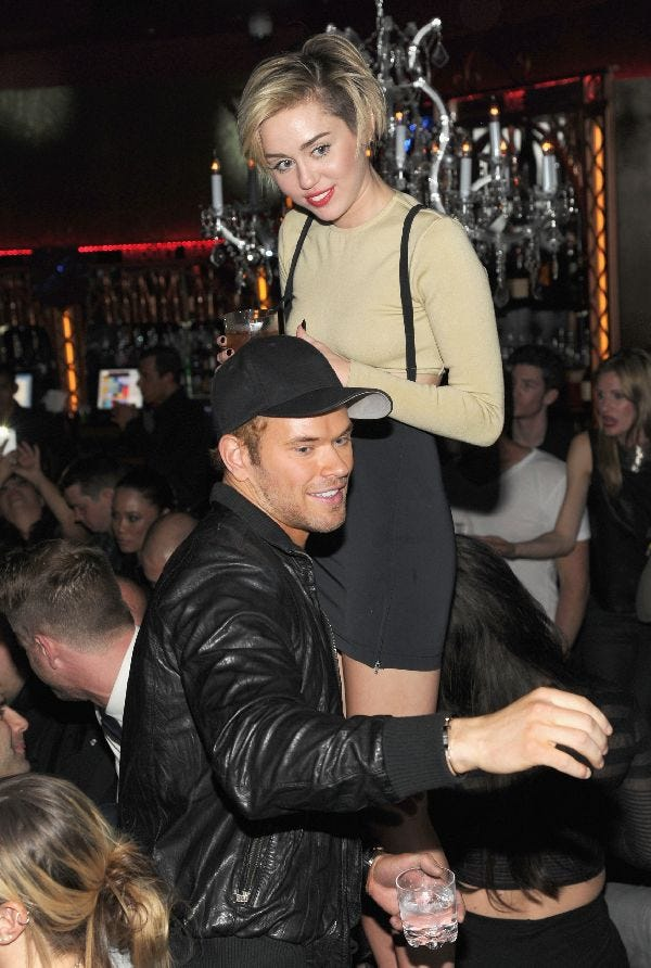 Miley Cyrus & Her Hot New Guy