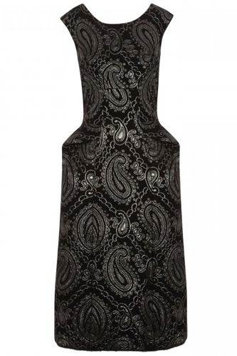 Marc Jacobs Jacquard Wool Blend Dress
