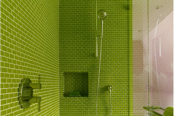 green-shower