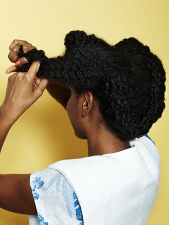 How To Do A Two Strand Twist Best Curly Hairstyles - Scrunch hair hair styling tips