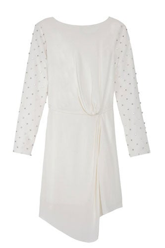 tibi-stud-beading-drape-dress-$650