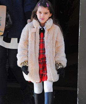 Brace Yourselves: Suri Cruise Is Getting A Clothing Line
