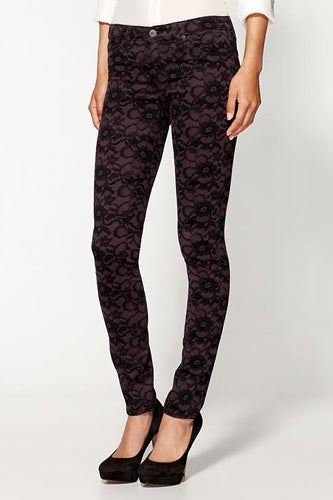 Adriano Goldschmied lace legging jeans