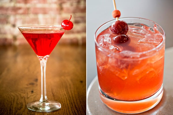 Sour Cherry Gin Cocktail Recipes — Dishmaps