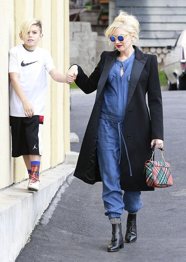 Gwen Stefani Pregnant Maternity Style