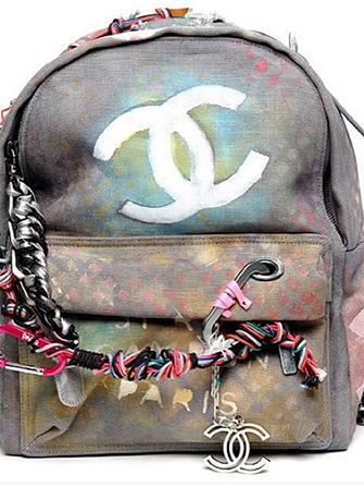 """Guess How Much This Chanel """"DIY"""" Backpack Costs?"""