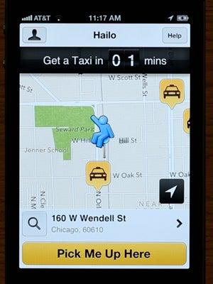 2--Iphone-with-Taxi-closeby