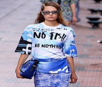 Kenzo Asks Us To Save The Fish In A Conservation-Conscious Spring Collection