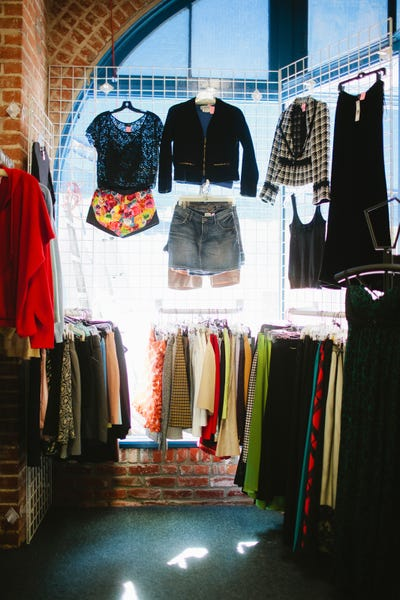 best thrift shops los angeles vintage clothing