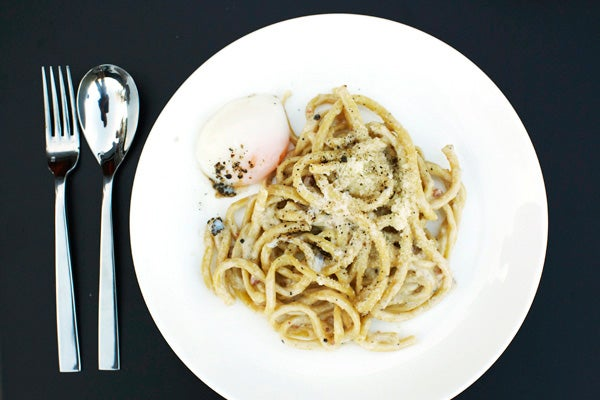 Superba-Snack-Bar-Smoked-Bucatini,-Carbonara-Pancetta-and-egg