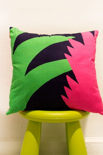 Leaf Detail Pillow_32.00_SlothSundays
