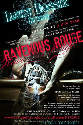 LucentDossier_RavenousRouge_NewYearsFlyer_BlueCuddle