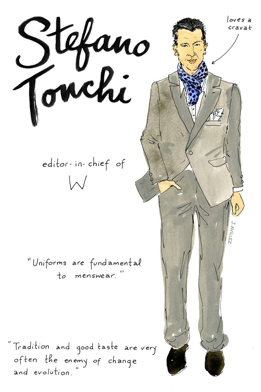 Stefano Tonchi — editor-in-chief
