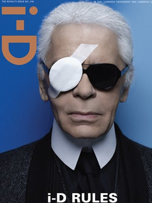 Karl Lagerfeld on ID