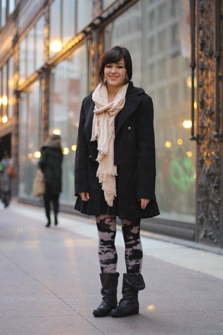 Downtown Chicago Street Style Saic Student Fashion