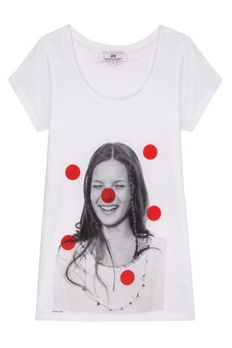 Kate Moss fashion t-shirt -£14.99 XS S M L XL