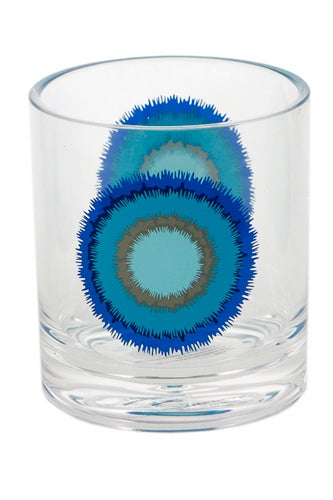 blue-ikat-rocks-glass