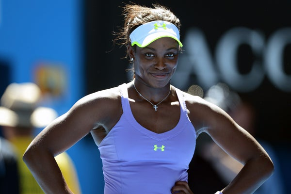 Sloane Stephens Vs. Serena Williams Australian Open