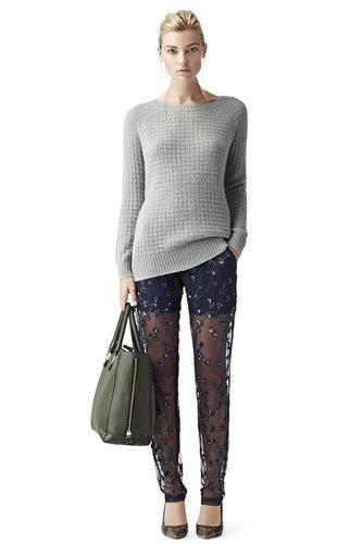 Reiss Sparkle Embellished Leggings