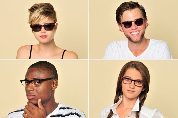 Online Shopping Glasses