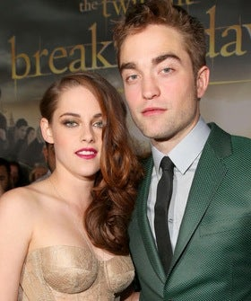 Robert Pattinson and Kristen Stewart Reignite Fashion Chemistry at the <i>Breaking Dawn 2<i> Premiere