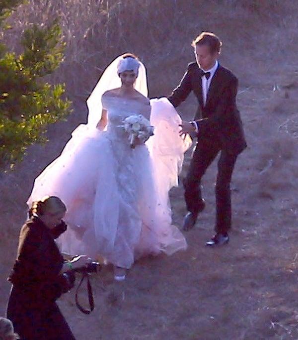Anne Hathaway Hijo: Anne Hathaway Wedding Dress