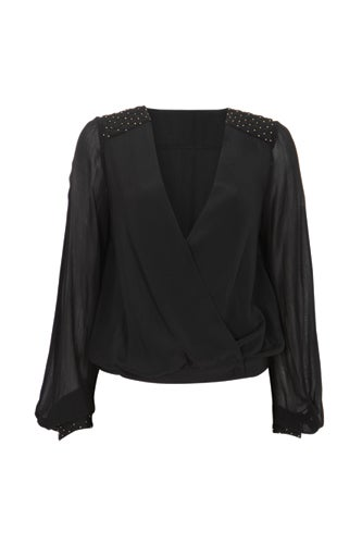 black-sheer-top-vneck-studded-shoulders