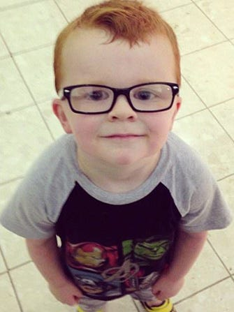 Glasses For Noah: Heart-Melting Facebook Alert