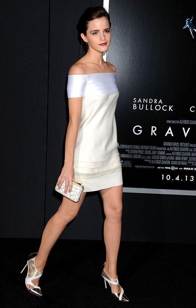 Emma Watson White Shoes Fake Photos
