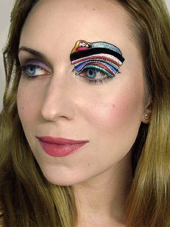 "All About The Woman Behind The Major ""Eye Art"" Craze"