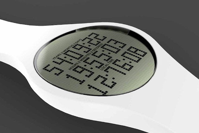 High-Tech Watch Will Tell You Exactly When You Will Die
