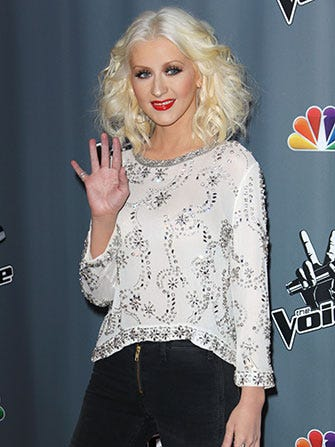 Christina Aguilera Is Pregnant! Pop The (Non-Alco) Bubbly