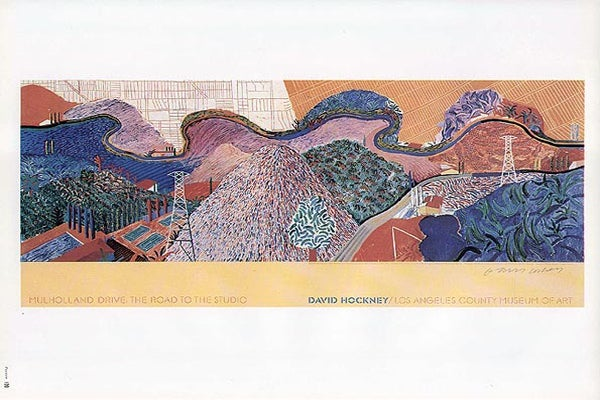 David Hockney &#039;Mulholland Drive&#039; Print-robertbower-$23.76