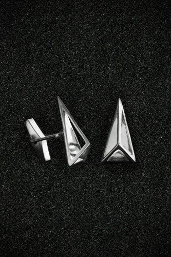 Cut-Away-Pyramid-Cuff-Links